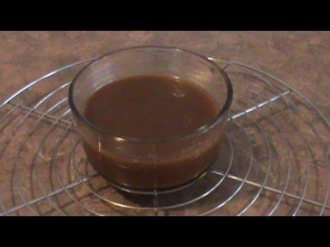 Easy Caramel Sauce الكراميل