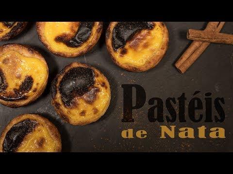 Portuguese Custard Tarts / Pastéis de Nata / Pastéis de Belém
