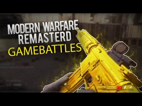Modern Warfare Remastered 2v2 GameBattles - Part 1