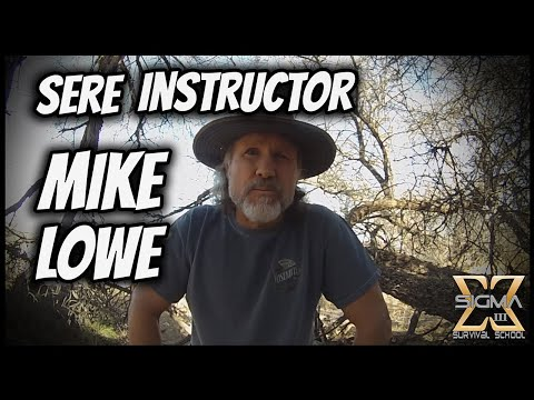 Mike Lowe, SERE Instructor, Joins the Team!