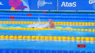 Ross Minor Wins Bronze In 400m Freestyle | Parapan American Games Lima 2019