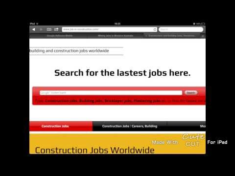 construction jobs abroad | overseas and worldwide