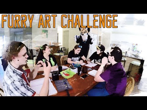 Furry Art Challenge - Speed Draw Edition