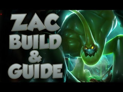 League of Legends - Zac Build - with Commentary