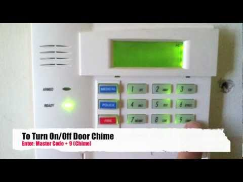 How To Turn Chime On/Off