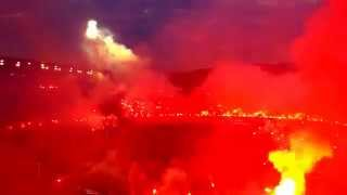 PAOK vs Olympiakos 16.04.2014 Welcome to Hell!!! Stadium of Toumba Flames! Greek Cup
