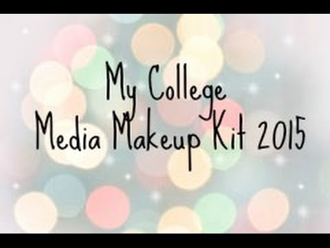 My college media makeup kit 2015