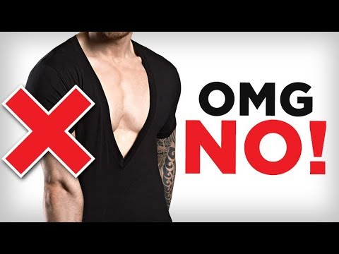 WORST T-Shirt Mistakes Men Make! (& How To FIX) | Look Awesome In A Tee Shirt