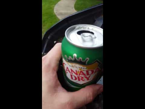 Cleaning a Car Battery with Ginger Ale