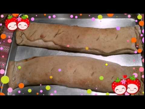 Stuffed Pretzel Roll