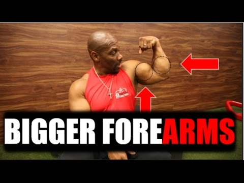 Make Your Biceps Look 2X Bigger *** Forearm Exercises ***