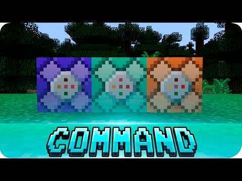Minecraft 1.9 - How to Get the New Command Block Types! (Snapshot 15w34a)