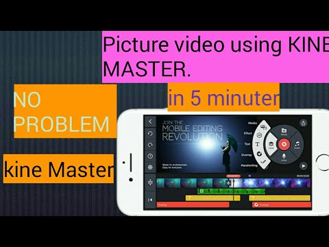 How to make pictures video with music using Kine Master||Urdu/Hindi Tutorial.