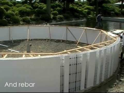 Building Tanks for Aquaculture - Form and Protect Concrete in One Step!