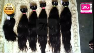 Wholesale Virgin Hair Extensions Remy Human Hair Exporter From India