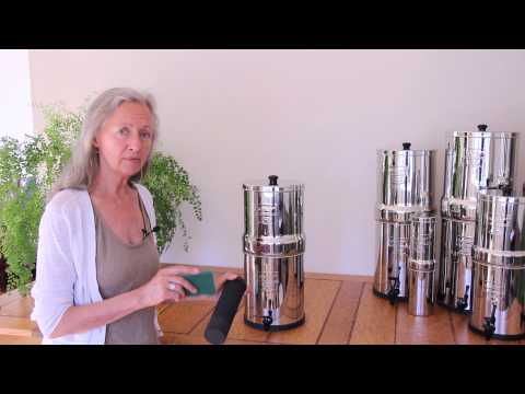 How to Maintain and Clean a Berkey System