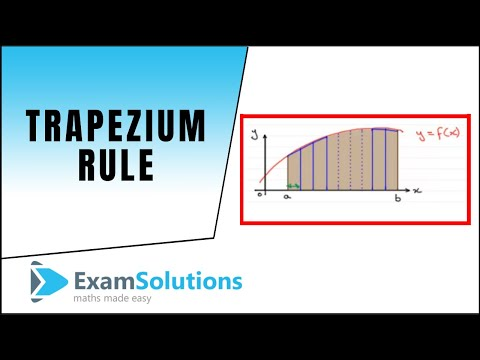 Trapezium Rule : ExamSolutions Maths Revision