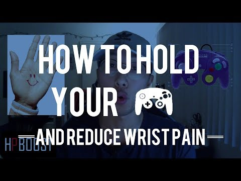 WRIST PAIN IN SMASH? HOLD YOUR CONTROLLER THE RIGHT WAY | HP BOOST #8