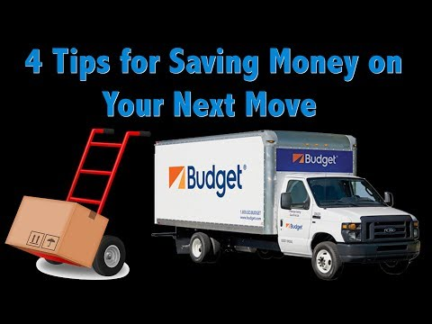 Moving Tips — 4 Ways to Save Money on Your Next Move