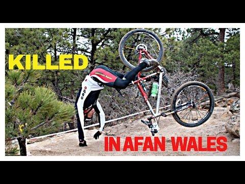 KILLED in AFAN WALES   mountain biking weekend away loads of CARDIO