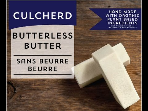 Culcherd VEGAN Butter! (dairy-free, soy-free, organic)