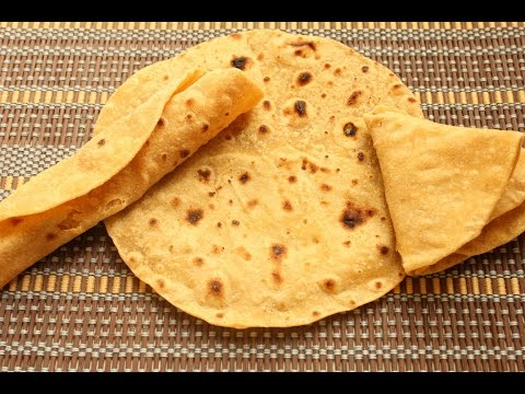Super soft, fast, flatbread Roti/Chapati (Indian)