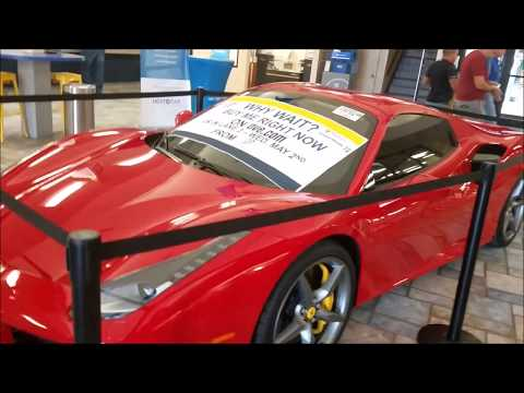 I Went to a Dealer Auction While on Vacation!! FERRARI - DIESEL - MUSTANG - CORVETTE - CONVERTIBLE