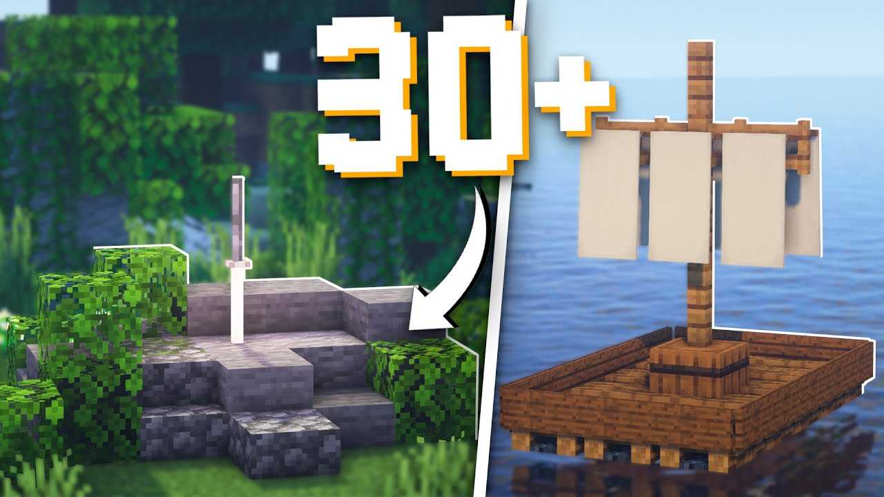 Minecraft: 30+ Medieval Build Hacks That Everyone Should Know!