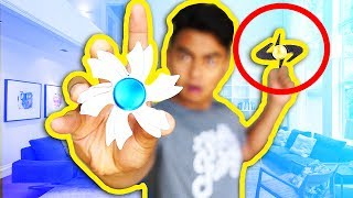 Impossible Fidget Spinner Trick Shots | Guava Juice