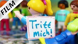 """Playmobil Film Deutsch - """"TRITT MICH!"""" SCHILD! HANNAH WIRD WIEDER GEMOBBT VON RICHIE - Familie Vogel"""