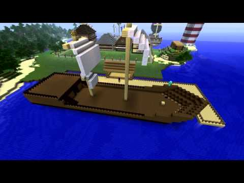 How To Build A Pirate Ship - Minecraft |  Speed Build