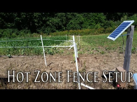 Non-Typical Deer Exclosure Fence | How to Set Up Your Fence