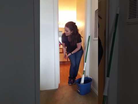 Tutorial- How to Clean a Bathroom Floor