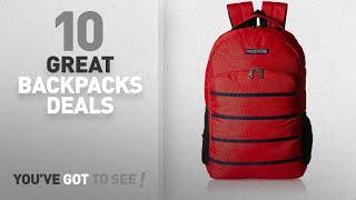 Tommy Hilfiger Backpacks Sale - 50% Off Or More: Tommy Hilfiger Biker Club - Colorado 23.8 Ltrs Red