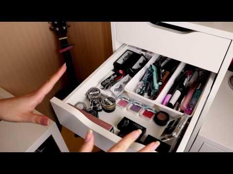Makeup collection declutter 2017