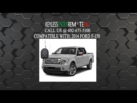 How To Replace a Ford F-150 Key Fob Battery 2011 - 2019