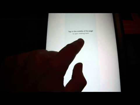 Nook HD+ Open and Read Book