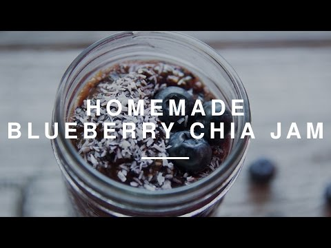 Homemade Blueberry Chia Jam | Wild Dish