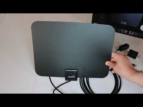 Review: ViewTV 60 Mile Silver Series Flat HD Amplified Digital Indoor TV Antenna