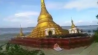 Video shows Myanmar pagoda collapse after heavy rainfall