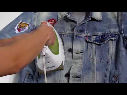 How To Patch & Pin Your Levi's Jacket