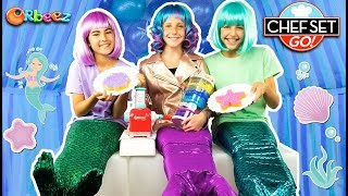 Mermaid Desserts For A Chef Set Go! Mermaid Party!   Official Orbeez