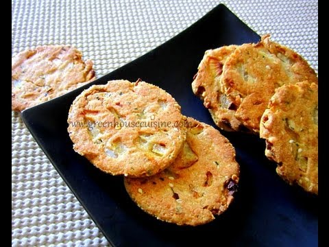 onion crackers ,masala biscuit-low fat recipe