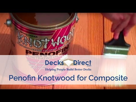 Penofin Knotwood Composite Decking Formula