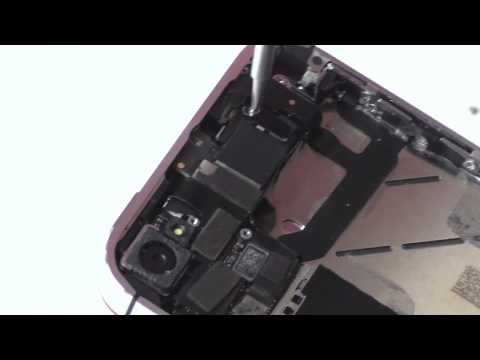 iPhone 4S Motherboard - Shield - Loud Speaker Install