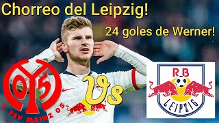 Análisis Mainz 05 vs RB Leipzig | Baile del Leipzig | Hat-trick de Werner
