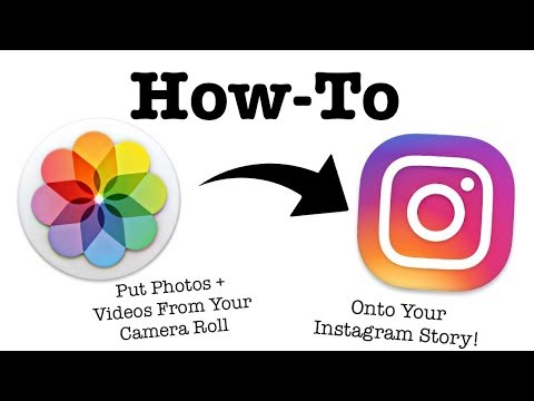How to upload Photos-Videos in instagram stories from gallery
