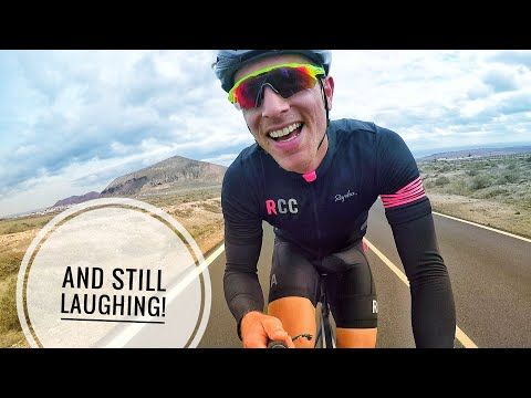 STRONG WIND, HEAVY RAIN, DUST STORMS & WASTED LEGS! - #cycling Lanzarote