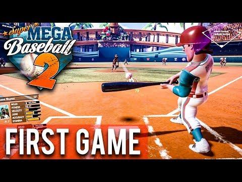 Super Mega Baseball 2 - MY FIRST GAME! WHAT TEAM SHOULD I MAKE?