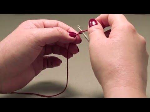 How to knit a kippah - Step 1